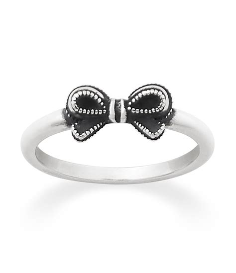 Silver Tapered Bow Ring avery vintage bow ring dillards
