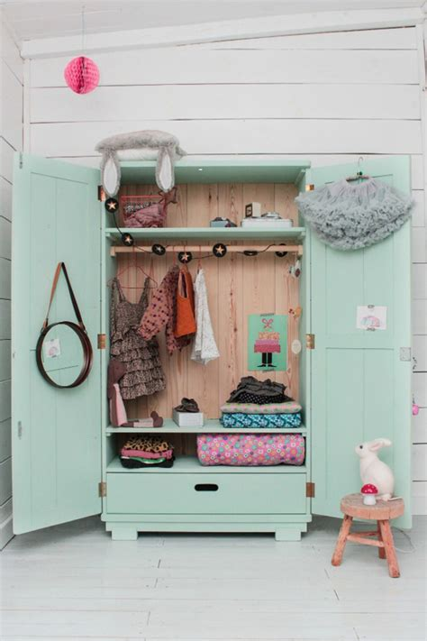 armoire for kids room wood szczescia original design for a kid s room