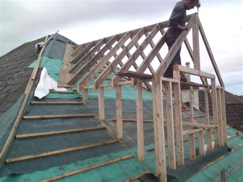 Shed Dormer Construction by New Dormer Construction Mc Building Services Bristol For