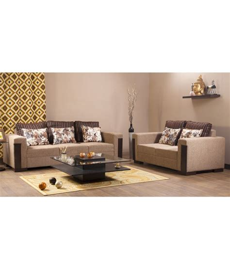 online sofa set shopping india hometown fabric 3 2 sofa set buy hometown