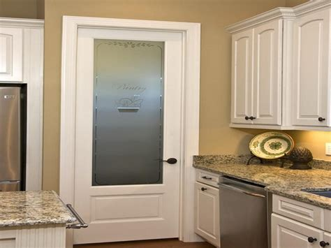 Etched Glass Pantry Door Lowes by Doors Windows Pros And Cons Of Glass Pantry Door