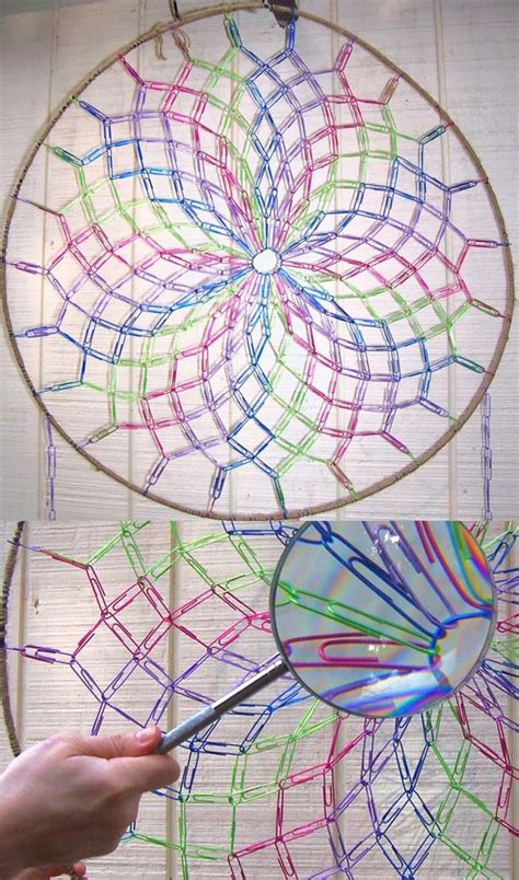 How To Make A Paper Dreamcatcher - these 17 paper clip diys take this simple office supply to