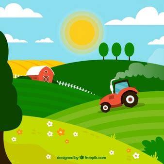 Scheune Gezeichnet by Traktor Vektoren Fotos Und Psd Dateien Kostenloser