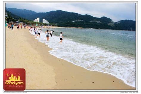 xiaomeisha beach sightseeingbeaches shenzhen shekou
