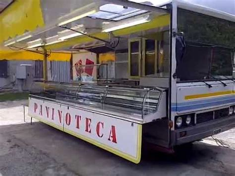 paninoteca mobile usata ruba incasso di paninoteca ambulante ma il camion 232