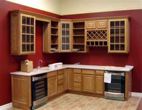 red kitchen walls with oak cabinets wine rack kitchen cabinet white kitchen cabinet wine rack