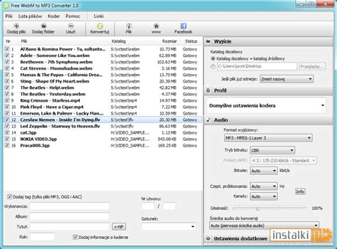 converter webm to mp3 free webm to mp3 converter 1 1 download instalki pl