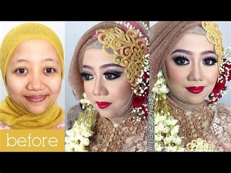 tutorial makeup simple hijab tutorial makeup wedding muslim by inivindy simpel hijab