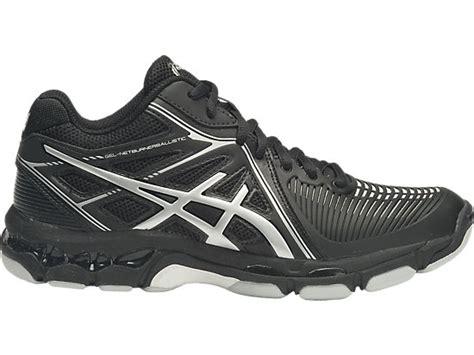 Harga Sepatu Asics Metarun gel netburner ballistic mt black silver asics
