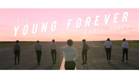 bts young forever lyrics bts young forever lyric video youtube