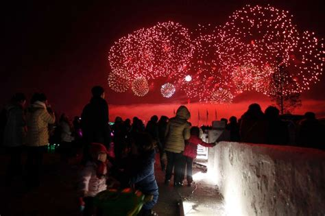 new year celebration korea the new year is rung in from australia to korea and