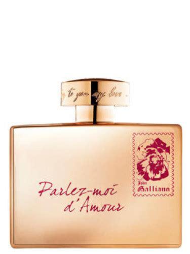 Parfum Original Galliano Parlez Moi Damor Eau Fraiche Edt parlez moi d amour gold edition galliano perfume a fragrance for 2012