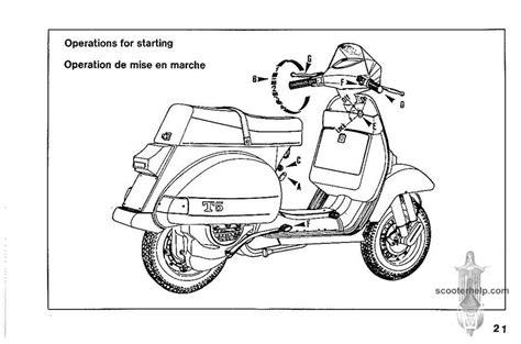 Vespa T5 Owner S Manual