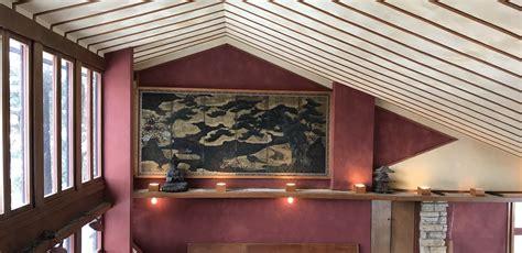 taliesin frank lloyd wright foundation conservation of japanese screen at taliesin frank lloyd