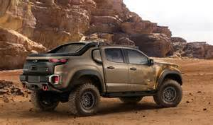 Chevrolet T Chevrolet Creates Colorado Zh2 Fuel Cell Prototype For Us