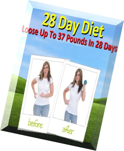 weirdbook 37 books 28 day diet plan up to 37 pounds in 28 days