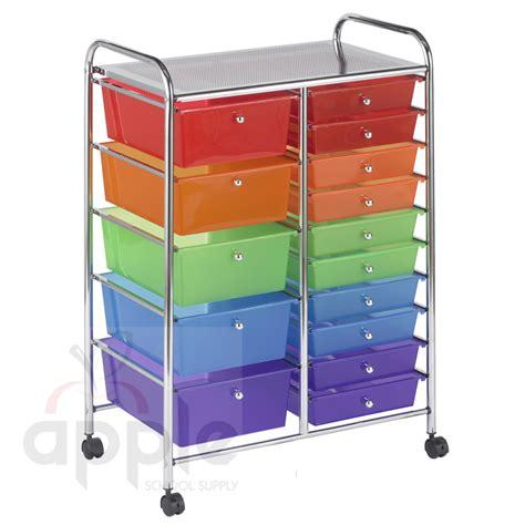 Modular Drawer Organizer by Ecr4kids Elr 20103 As 15 Drawer Mobile Organizer Free