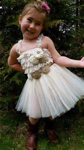 country wedding flower dresses rustic flower dress ivory tutu rustic flower