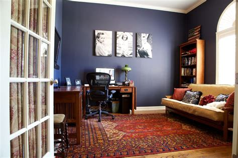 Brown And Blue Dining Room by Benjamin Moore Hale Navy Paint Pinterest