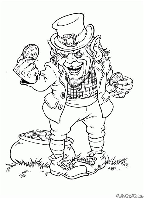 Coloriage Angry Troll