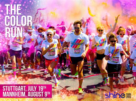 color tun the color run is coming to germany travel events