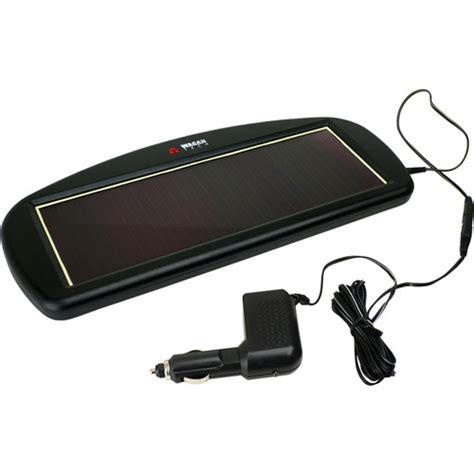 solar powered car battery charger wagan solar power battery charger walmart