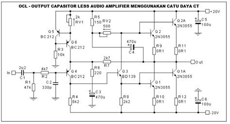 layout lifier ocl 150 watt membuat power lifier ocl 150 watt