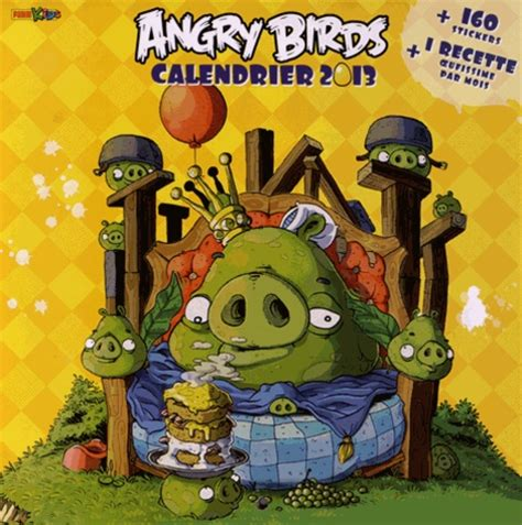 Angry Birds Calendrier 2013 Marvel Panini France