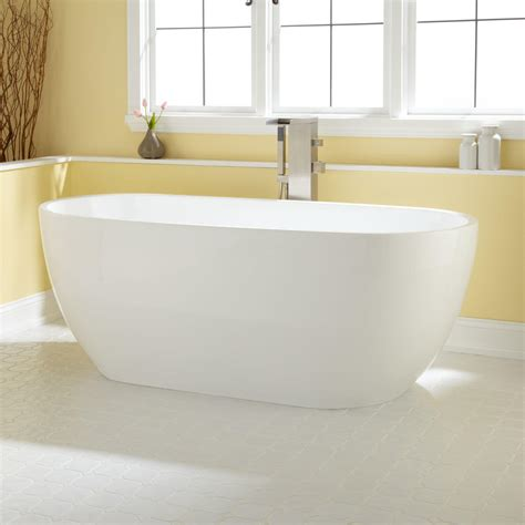 acrylic soaking bathtub 59 quot dana round acrylic soaking tub bathroom