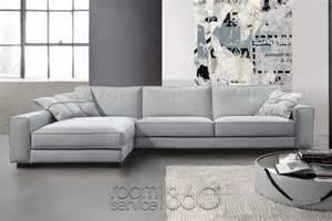 bond italian leather sectional sofa by gamma arredamenti