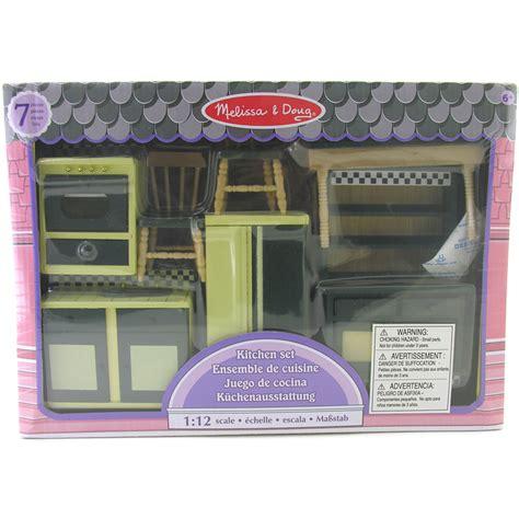 melissa and doug dolls house uk melissa doug miniature dolls house kitchen furniture new