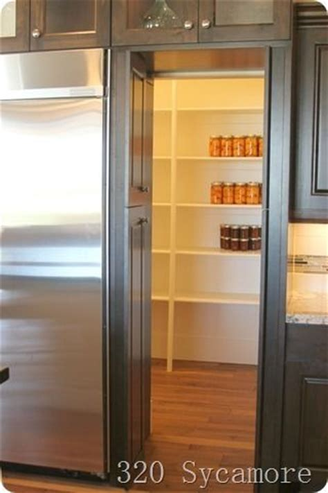 fridge that looks like cabinets the door past the fridge looked like cabinets but it