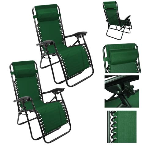 Reclining Pool Chairs by 1 Pair 2pc Sun Lounge Chair Recliner Reclining Patio Pool Chair Ebay
