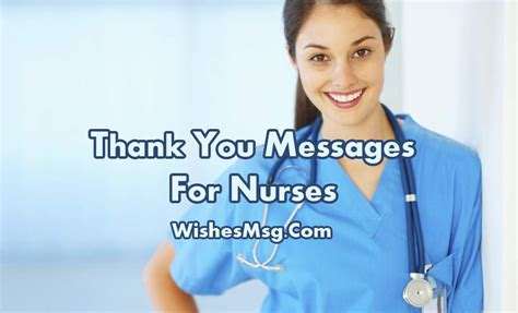 msg for thank you messages for nurses appreciation quotes