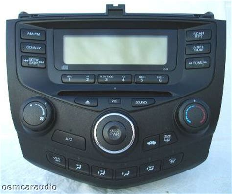 honda accord 2004 radio 2004 honda accord radio no sound