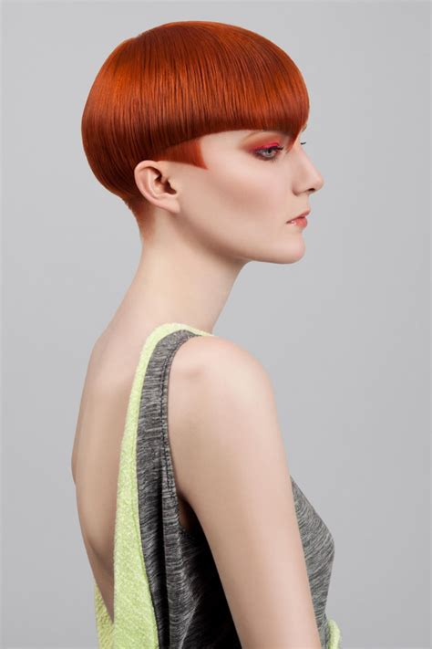 precession haircut emma b model london england united kingdom