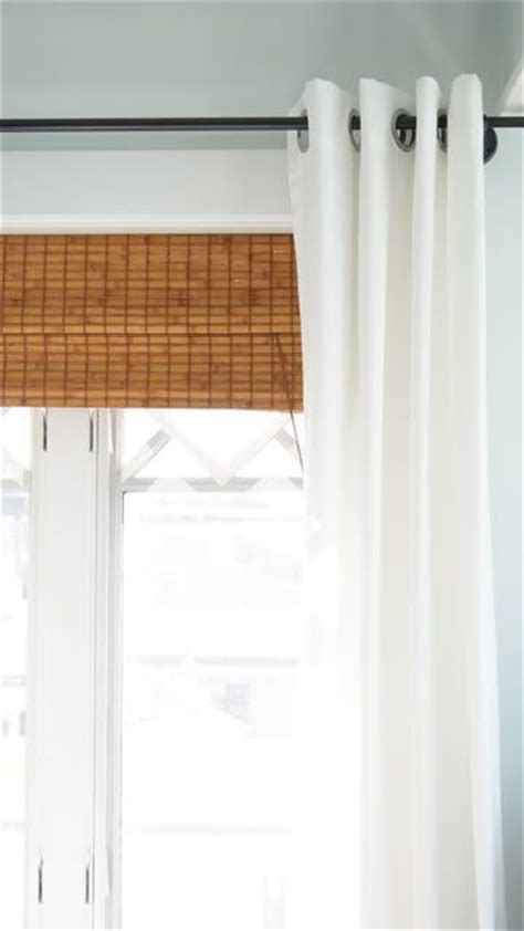 White Bamboo Curtains The World S Catalog Of Ideas
