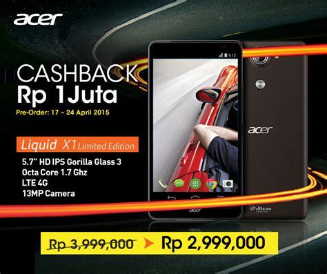 Hp Acer Liquid X1 Bulan harga android acer 2016 acer liquid x1