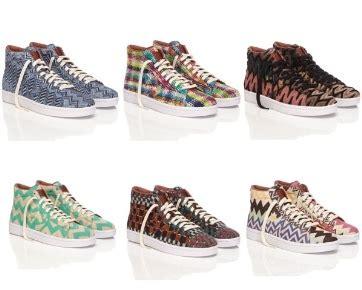 Sepatu Converse Missoni brand sepatu converse resmi berkolaborasi dengan missoni