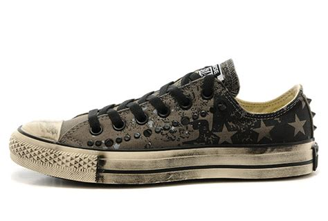Jual Converse Varvatos Edition On Sale converse all black chuck limited edition converse varvatos studded washed american