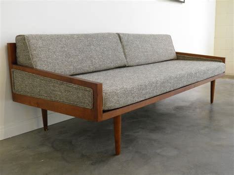contemporary settee furniture vintage mid century modern furniture sofa caring an