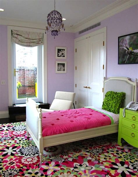 rugs for girls bedroom teen room ideas using patterned area rugs kidspace