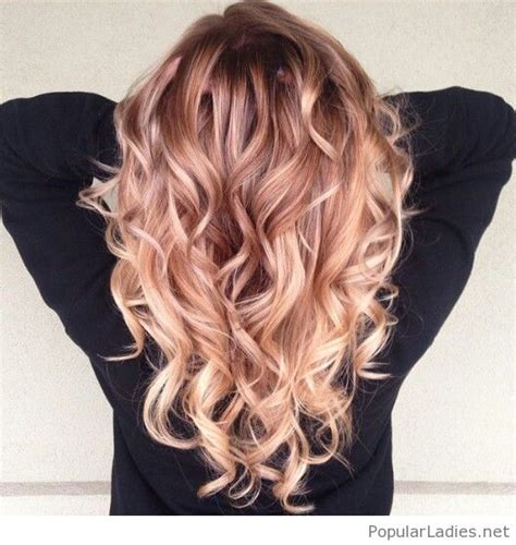 pictures of blondes who ombred their hair to have dark roots amazing strawberry blonde ombre hair color hair