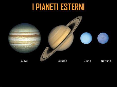 pianeti interni ed esterni 1 176 corso di astronomia alla scoperta sistema solare