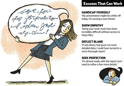 excuses that actually work wsj