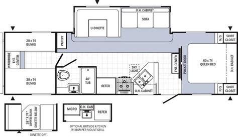 puma rv floor plans 2015 palomino puma 30dbss travel trailer owatonna mn