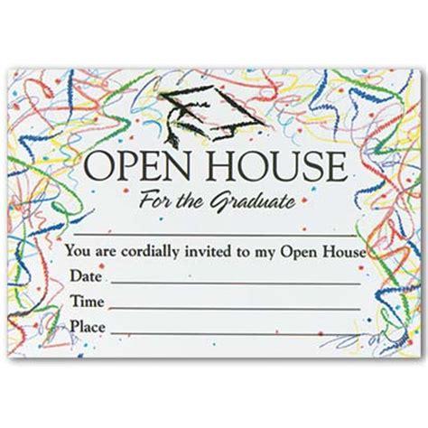 confetti graduation open house invitations myexpression 561