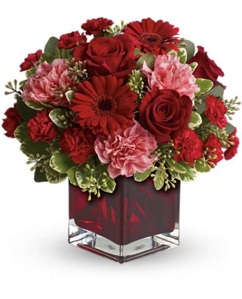 flower delivery valentines day together forever by teleflora t05n430a fresh flower