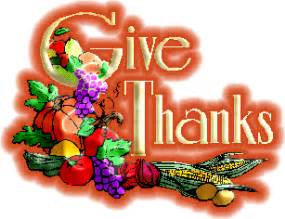 Free thanksgiving signs and greetings myspace clipart graphics codes