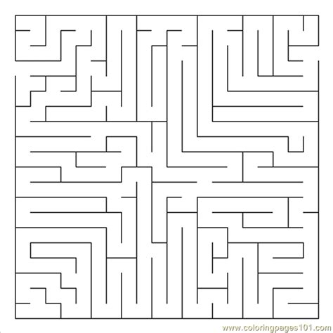printable bowling maze 13 coloring page free mazes coloring pages